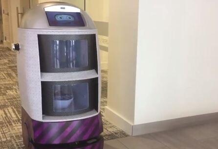 El robot Techi Butler que puede estar trabajando hasta 13h seguidas