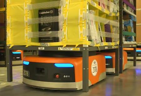 Amazon es una de las multinacionales que más está invirtiendo en la automatización de sus almacenes