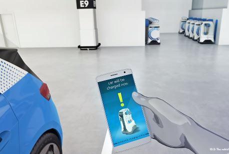 El autómata para recarga de vehículos eléctricos de Volkswagen para cualquier aparcamiento